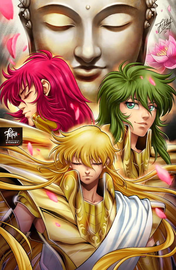 Gold Saints | Characters | Fanarts by FETCH Francisco ...